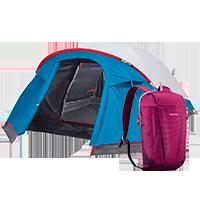 Trilha e Camping
