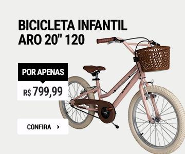 Bicicleta aro'20 Original 120